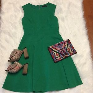 Limited emerald green dress